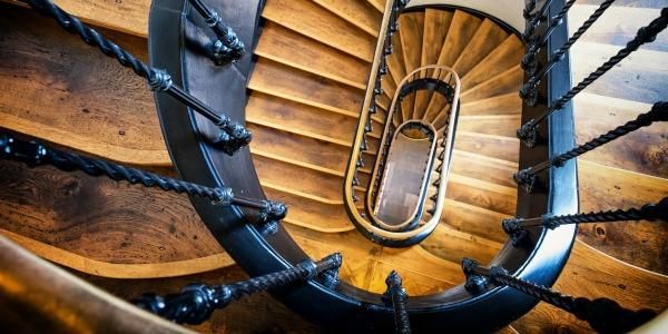 trap zonder bekleding